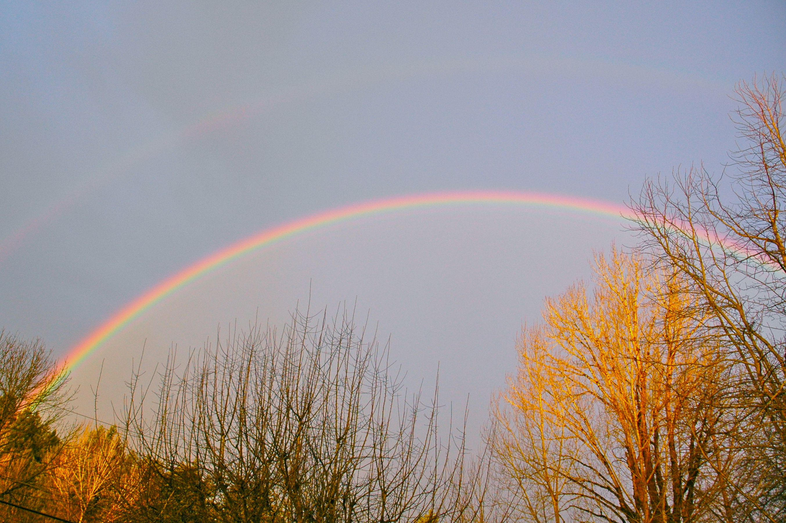 the magic of a full rainbow laura stanfill