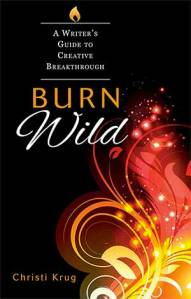 Christi Krug's new book, Burn Wild, is a wonderful resource for creative writers.