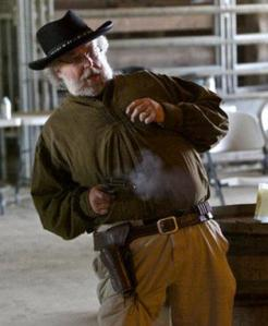 Gregg Townsley uses his fast draw experience in creating realistic scenes in his western novels.