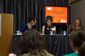 Christi Krug, Sage Cohen, and I did a writing guide panel at Wordstock.
